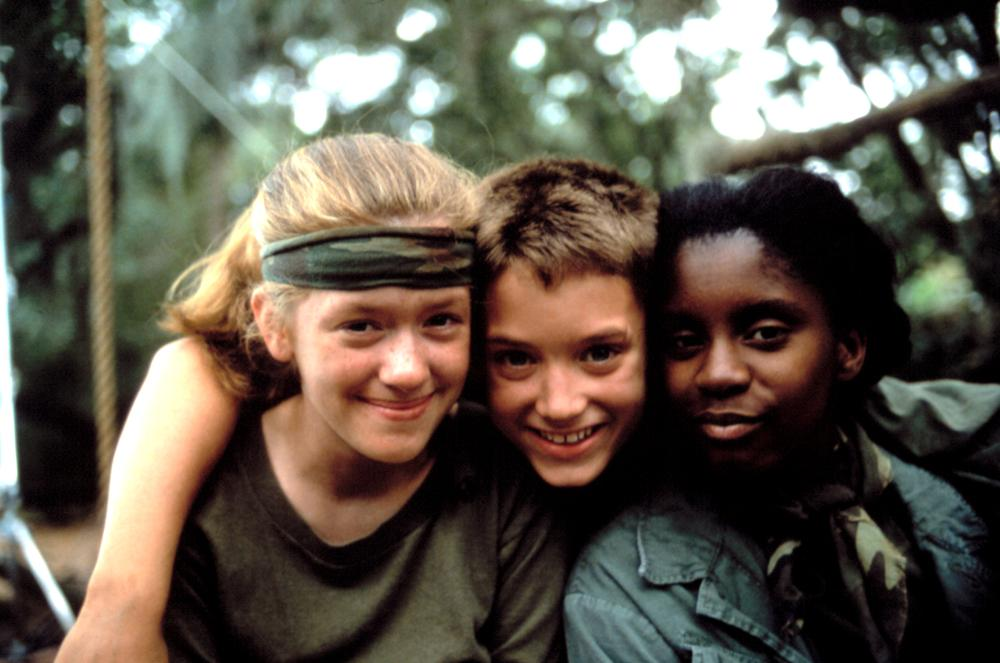 THE WAR, Lexi Randall, Elijah Wood, LaToya Chisholm, 1994, © Universal